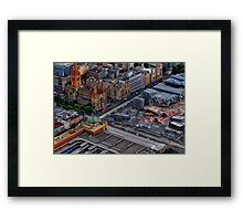 View From Eureka Framed Print