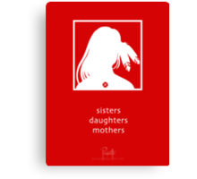 Sisters, Daughters, Mothers - an Aaron Paquette Design Canvas Print