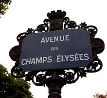 Champs Elysees by Daniel Silva