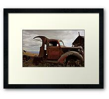 Rusty Ford Framed Print