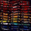 51 Hot Wheel Ferrari Rainbow by SteveBrandon