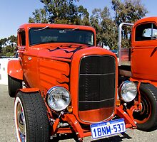 Hot Rod '32 Ford - 5 window Coupe by KJWstudio
