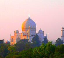 Taj Mahal: the temple of Love by supergold