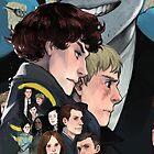 Sherlock Cell Phone Case by reapersun