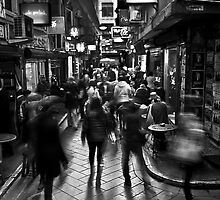 Melbourne Laneyway by HPG  Images