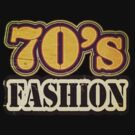 Vintage 70's Fashion - T-Shirt by Nhan Ngo
