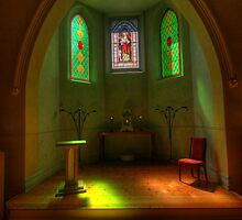 A Quiet Place #2 - The Chapel, Daylesford Convent, Daylesford, Victoria Australia - The HDR Experience by Philip Johnson