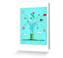 Plumbing Problems ? Greeting Card