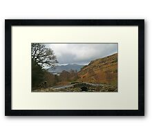 Ashness Bridge Borrowdale (Lake District National Park) Framed Print