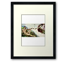 Let there be a lighter Framed Print
