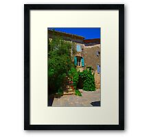 Colors of the Languedoc-Roussillon  Framed Print