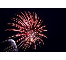 Australia day fireworks Photographic Print