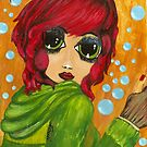 RED HAIR DOLLIE by Noelia Garcia