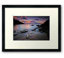 Rocks of Gordon's Bay Framed Print