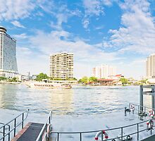 Chao Phraya Panoramic by Louis Tsai