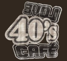 Love 40's Cafe Vintage T-Shirt by Nhan Ngo