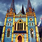St Pauls Cathedral Melbourne by oddoutlet