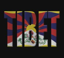 Tibet flag by stuwdamdorp