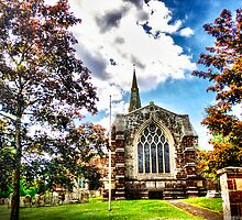 St Marys Church Finedon (HDR)  by Vicki Field