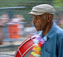 Playing for the Carnival in Rio de Janeiro by Andrea Rapisarda