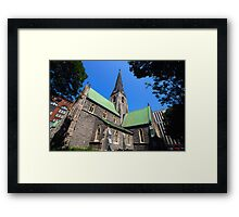 Christ Church Angelican Cathedral - Montreal Framed Print