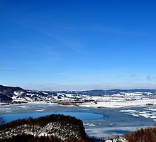 Winter at Loisach Valley by Daidalos