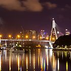 ANZAC Bridge Over Water by diggle