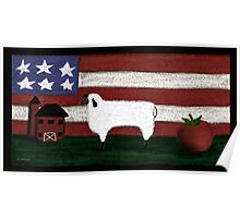 Country Flag Poster