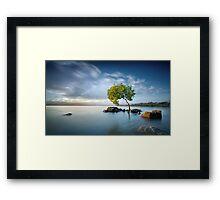 Zen Light Framed Print