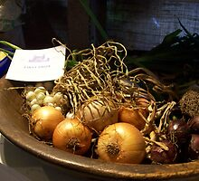 Still Life Onions - Kangaroo Valley Rural Show by Donna Huntriss