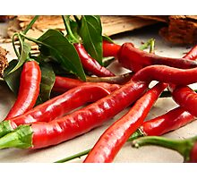 Red Hot Chili Peppas Photographic Print
