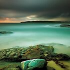 An Aqua Dawn by Mark  Lucey