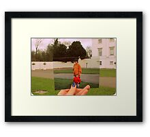 15/10/1992 - Day before my twin and i were born 2 months premature  Framed Print