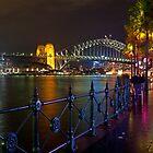 Circular Quay during Vivid Sydney by Louis Tsai