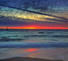 As Light Fades Upon the Shore by Jill Fisher