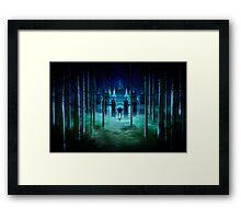 Secret Castle Framed Print