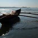 Fishing Boat Loaded with Nets Palolem by SerenaB