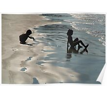 Children by the Sea Palolem Poster