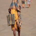 Beggar on Palolem Beach by SerenaB