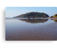 Across the Water to Monkey Island Palolem Canvas Print
