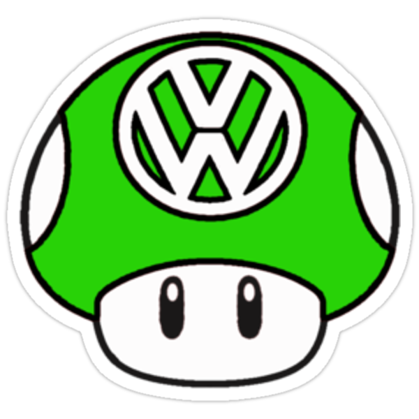 VW 1up green by Benjamin Whealing