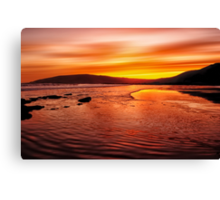 Whisky Morning Canvas Print