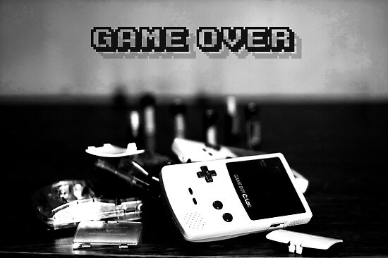 Game Over by Acelyn Cakes
