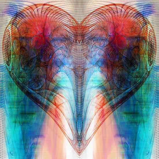 Heart (Variation) by Benedikt Amrhein