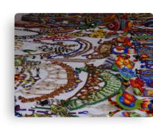 Huichol Art - Arte Huichol Canvas Print