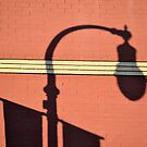 Street Lamp Shadows by Brian Gaynor