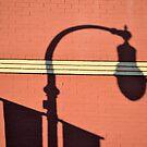 Street Lamp Shadows by Brian Gaynor
