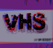 3D VHS Sticker