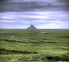 Mont St.Michel ( 1 ) The Flats by Larry Lingard-Davis