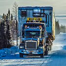 Ice Road Trucking by peaceofthenorth